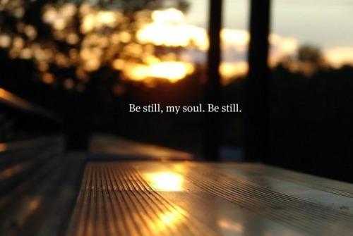 be-still1